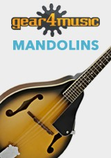 Gear4music mandolinas
