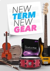 Music Gear for the New Term