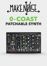 Make Noise 0-Coast Sintetizador Patchable de 1 Voz